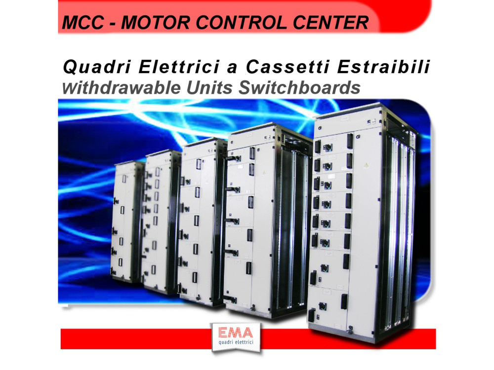 List Of Low Voltage Switchboards Mcc Motor Control Center